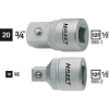 Hazet Adapter belsőnégyszögről 12,5 mm (1/2) külső négyszögre 10 mm (3/8), Hazet 958-2