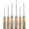 Wiha Csavarhúzó készlet fa markolattal, egyenes/kereszt, 6 részes, Wiha 162HK6SO 07149