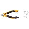 Wiha ESD oldalcsípő fogó, vágási átmérő: kemény huzal 0,3 mm, közepes 0,6 mm, Wiha Professional 26808