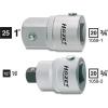 Hazet Adapter belsőnégyszögről 20 mm (3/4) külső négyszögre 25 mm (1), Hazet 1058-1