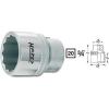 Hazet Kettős hatlapú dugókulcsfej 50 mm, belső négyszög 20 mm (3/4), Hazet 1000Z-50