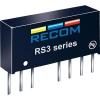 Recom International 3 W-os DC/DC átalakító, be: 18 - 36 V/DC, ki: ±15 V/DC, ±100 mA, 3 W, Recom International RS3-2415D