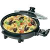 Pizzasütő 1500 W, 32 cm, fekete, Clatronic PP 3401