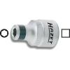 Hazet Adapter belső négyszögről 12,5 mm (1/2) belső hatszögre 6,3 mm (1/4), Hazet 2250-4