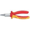 Kerek csőrű fogó 160 mm, rövid csőrrel, Knipex 22 06 160
