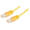 ROLINE UTP CAT6 patch kábel 2m, sárga