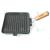 Perfect home Grill serpenyő 24*24 cm kezelt (szögletes)