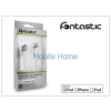 Fontastic Apple iPhone 5/5S/5C/iPad 4/iPad Mini USB töltő- és adatkábel - Lightning - 100 cm-es vezetékkel (Apple MFI engedélyes) - fehér