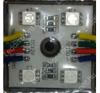 Life Light Led Led modul 5050 chip, 4 led, 13-56 Lumen, 12V, RGB, IP65 vízálló, Life Light Led villanyszerelés
