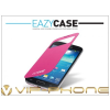Eazy Case Samsung i9190 Galaxy S4 Mini View Cover flipes hátlap on/off funkcióval - EF-CI919BPEGSTD utángyártott - pink