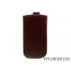 CELLECT iPhone 5C méretű slim bőr tok, Lila