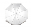 Összecsukható esernyő, fehér esernyő