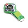 Kulcstartó iránytűvel, zöld