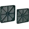 Akasa Ventilátor szűrő, 40 mm, fekete, Akasa GRM40-30