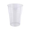 Műanyag pohár, 2 dl, víztiszta