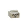 WAGO Mikró vezetékösszekötő 4 vezetékes, 0,6 - 0,8 mm² 6A, sötétszürke, 1 db, WAGO 243-204