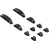 Hama Kábelrögzítők, fekete, 10 db, Hama Easy Clip