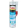 Pattex Pattex fürdőszobai szilikon tömítőpaszta 300ml fehér Pattex PFDBW