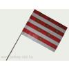 Magyar Gárda zászló 15x25 cm, 40 cm-es műanyag rúddal