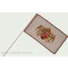 Farkasfogas barna angyalos zászló Rúd nélkül 40x60 cm
