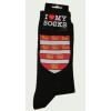 Árpádházi címeres zokni fekete 36-40