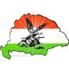 Nemzeti színű turulos hűtőmágnes Nagy-Magyarország körvonallal 8x5 cm