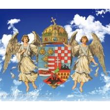 Angyalos címer puzzle, kirakós