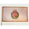 Farkasfogas koszorús címeres mintás zászló Rúd nélkül 40x60 cm