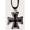 Vaskereszt nyaklánc (3,5X3 cm)
