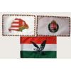 3 db kis zászló (15x25 cm) III.