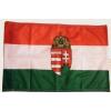 Nemzeti színű címeres zászló Rúd nélkül 60x90 cm