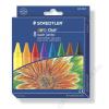 STAEDTLER Zsírkréta, vastag, STAEDTLER Noris Club Super Jumbo, 8 különböző szín (TS226NC8)