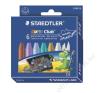 STAEDTLER Zsírkréta, vastag, STAEDTLER Noris Club, 6 metál szín (TS2240C6) kréta