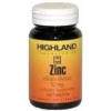 Highland Zinc tabletta 100db