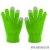 CELLY érintőképernyős készülékekhez kesztyű,Zöld