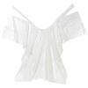Hajvágó és festő kendő eldobható fehér (30db)