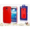 V7 Samsung i9500 Galaxy S4 hátlap - V7 Metro Anti-Slip - piros