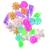 Trixie Akvárium dekor színes műanyag kagylók 24db