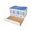 DONAU Archiváló konténer, előre nyíló, DONAU, kék