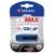 Verbatim Pendrive, 128GB, USB 3.0, 175/80 MB/sec, VERBATIM V3 MAX, kék-fekete