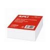 APLI Kockatömb, fehér, 100x100 mm, 500 lap