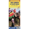 Sri Lanka és Dél-India térkép - ITM