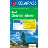 WK 063 - Bad Kleinkirchheim - Nationalpark Nockberge turistatérkép - KOMPASS