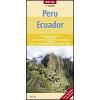 Peru és Ecuador térkép - Nelles