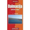 Dalmácia (Split környéke) autótérkép - Intersistem