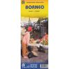 Borneo és Kalimantan térkép - ITM