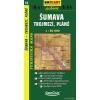 Sumava - Trojmezí, Pláně turistatérkép - SHOCart 35