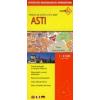 Asti térkép - De Agostini