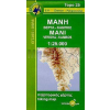 8.11 - Mani: Vergha - Kambos turistatérkép - Anavasi
