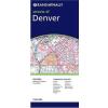 Denver, CO térkép - Rand McNally